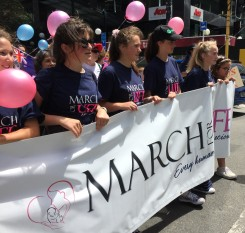 Teenage girls lead the March for Life