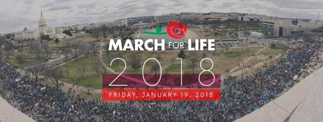 US March for Life crowd 2018